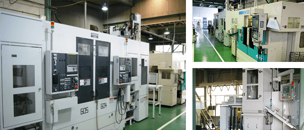 Photo of Machining Line